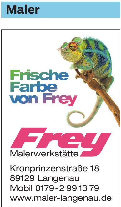 Frey Malerwerkstätte