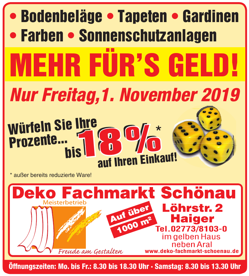 Deko Fachmarkt Schönau
