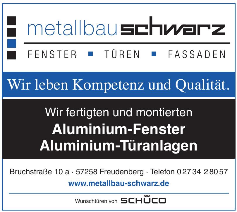 Metallbau-Schwarz