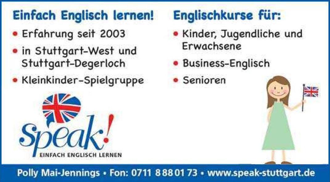 Speak Stuttgart