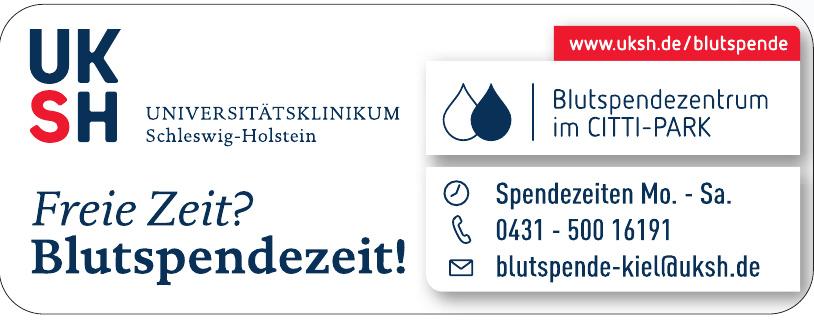 Blutspendezentrum im Citti-Park