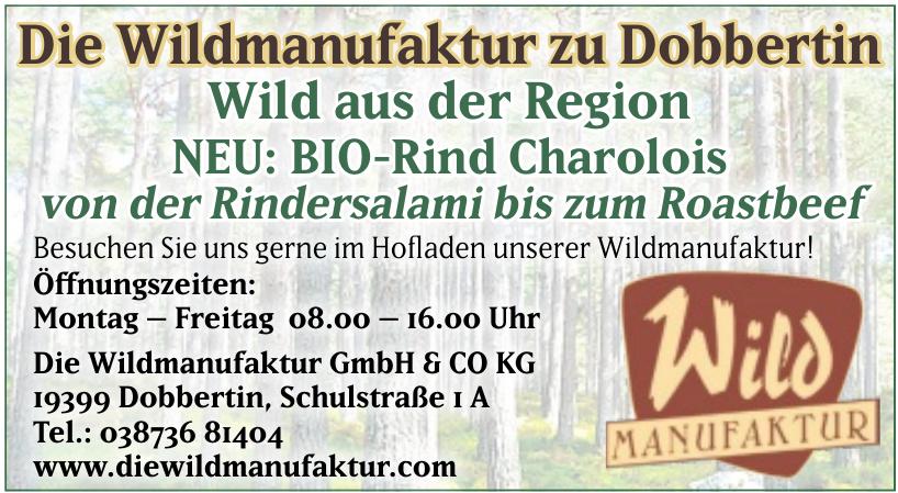 Die Wildmanufaktur GmbH & CO KG