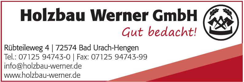 Holzbau Werner GmbH