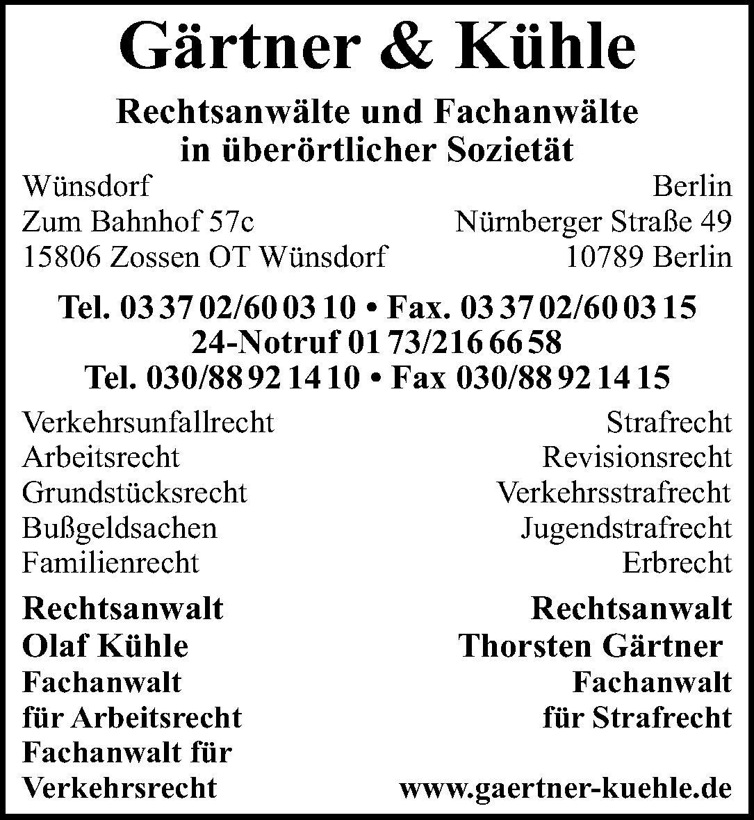 Gärtner & Kühle