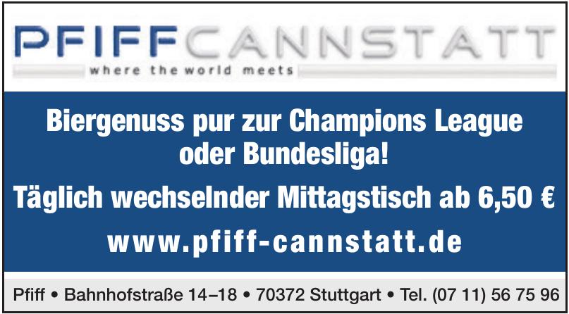 Pfiff Cannstatt