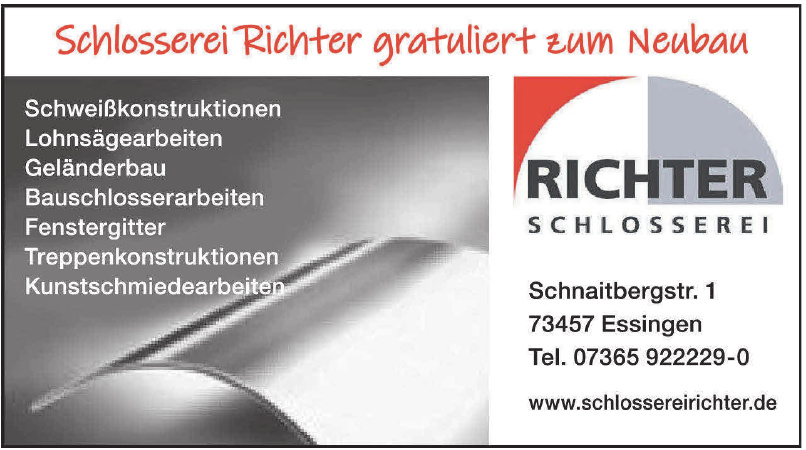 Schlosserei Richter