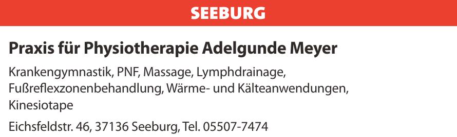 Praxis für Physiotherapie Adelgunde Meyer