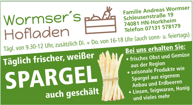 Familie Andreas Wormser