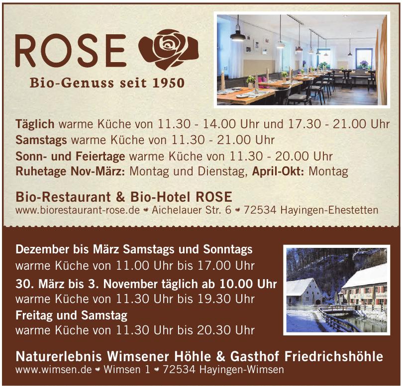 Bio-Restaurant & Bio-Hotel ROSE
