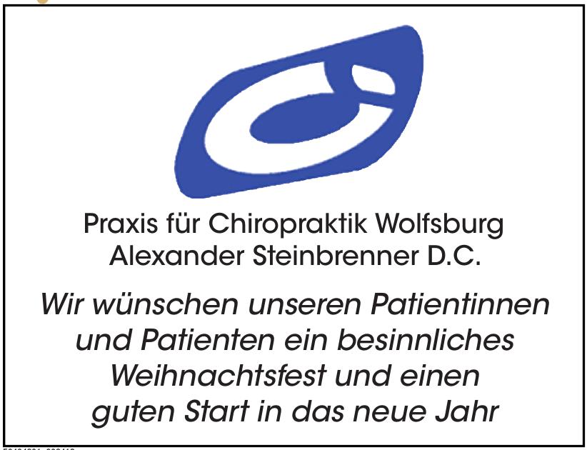 Praxis für Chiropraktik Wolfsburg Alexander Steinbrenner D.C.