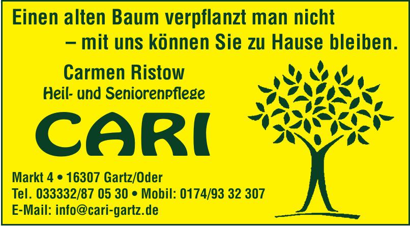 CARI Carmen Ristow Heil- und Seniorenpflege
