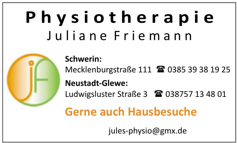 Physiotherapie Juliane Friemann