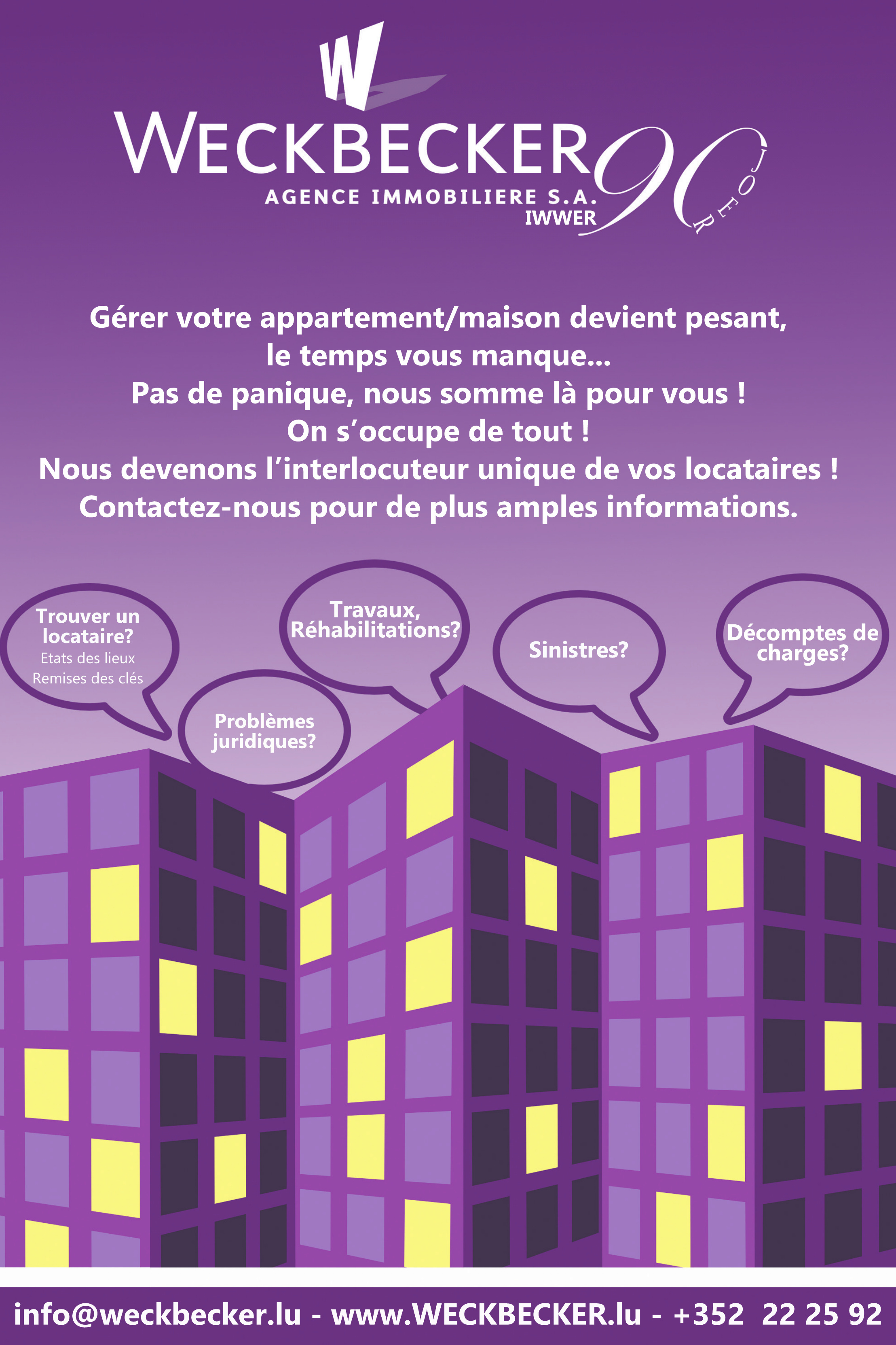 Weckbecker Agence Immobiliere S.A.