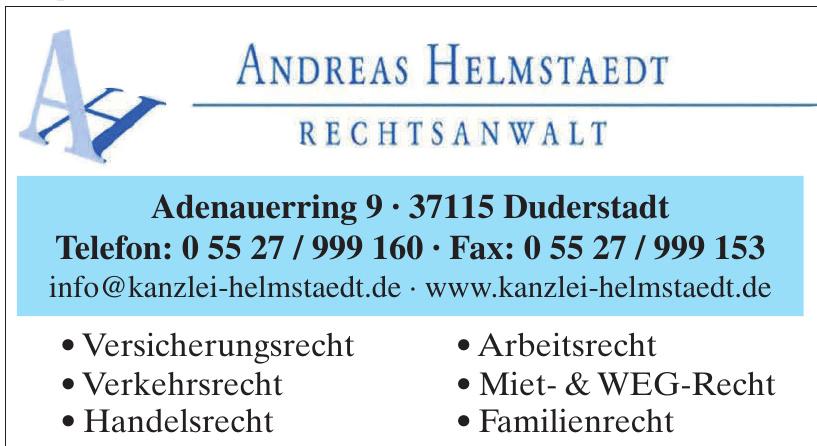 Andreas Helmstaedt Rechtsanwalt