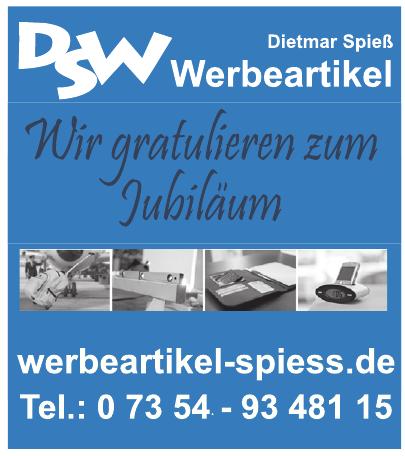 DSW Werbeartikel