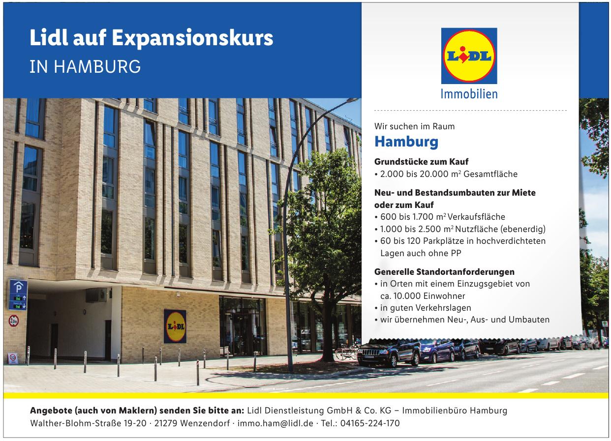 Lidl Dienstleistung GmbH & Co. KG – Immobilienbüro Hamburg