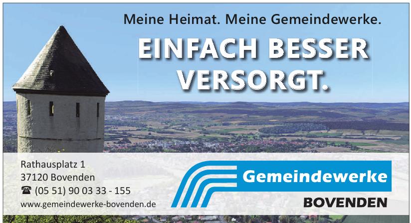 Gemeindewerke Bovenden