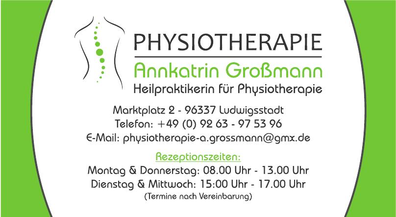 Physiotherapie Annkatrin Großmann