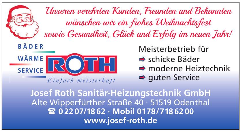 Josef Roth Sanitär-Heizungstechnik GmbH