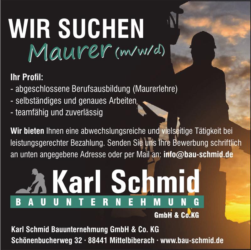 Karl Schmid Bauunternehmung GmbH & Co.KG
