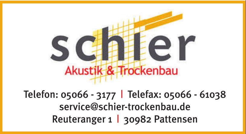 Schler Akustik & Trockenbau