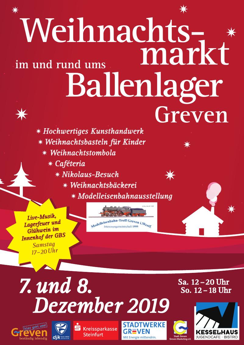 Weihnachtsmarkt Ballenlager Greven