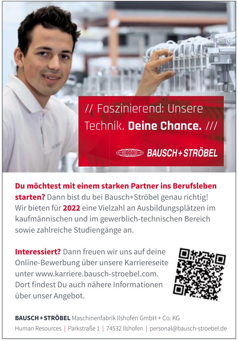 BAUSCH+STRÖBEL Maschinenfabrik Ilshofen GmbH + Co. KG