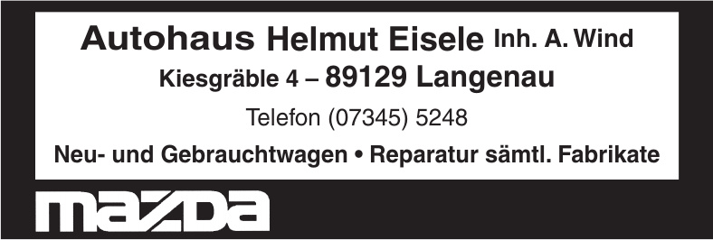 Autohaus Helmut Eisele Inh. A. Wind