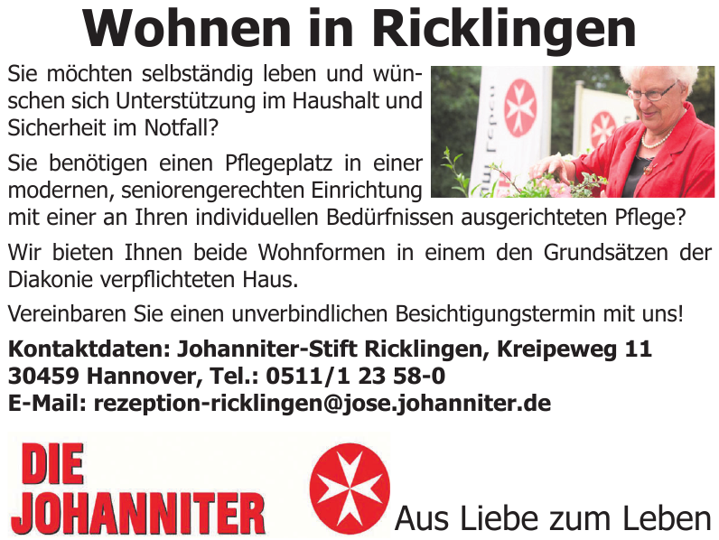 Johanniter-Stift Ricklingen