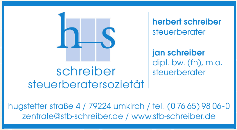 h-s Schreiber Steuerberatersozietät