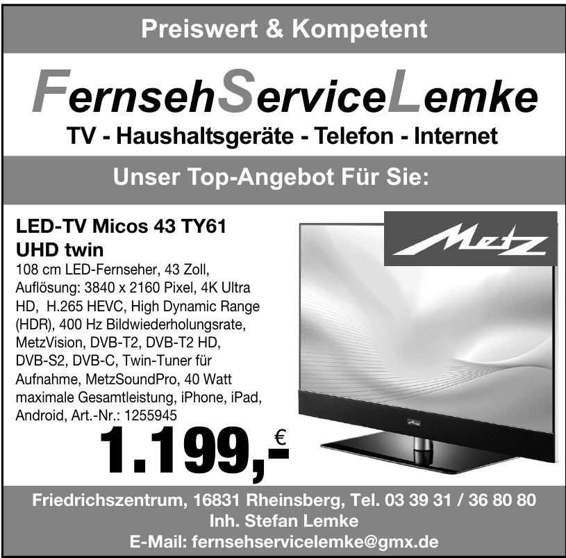 Fernseh Service Lemke