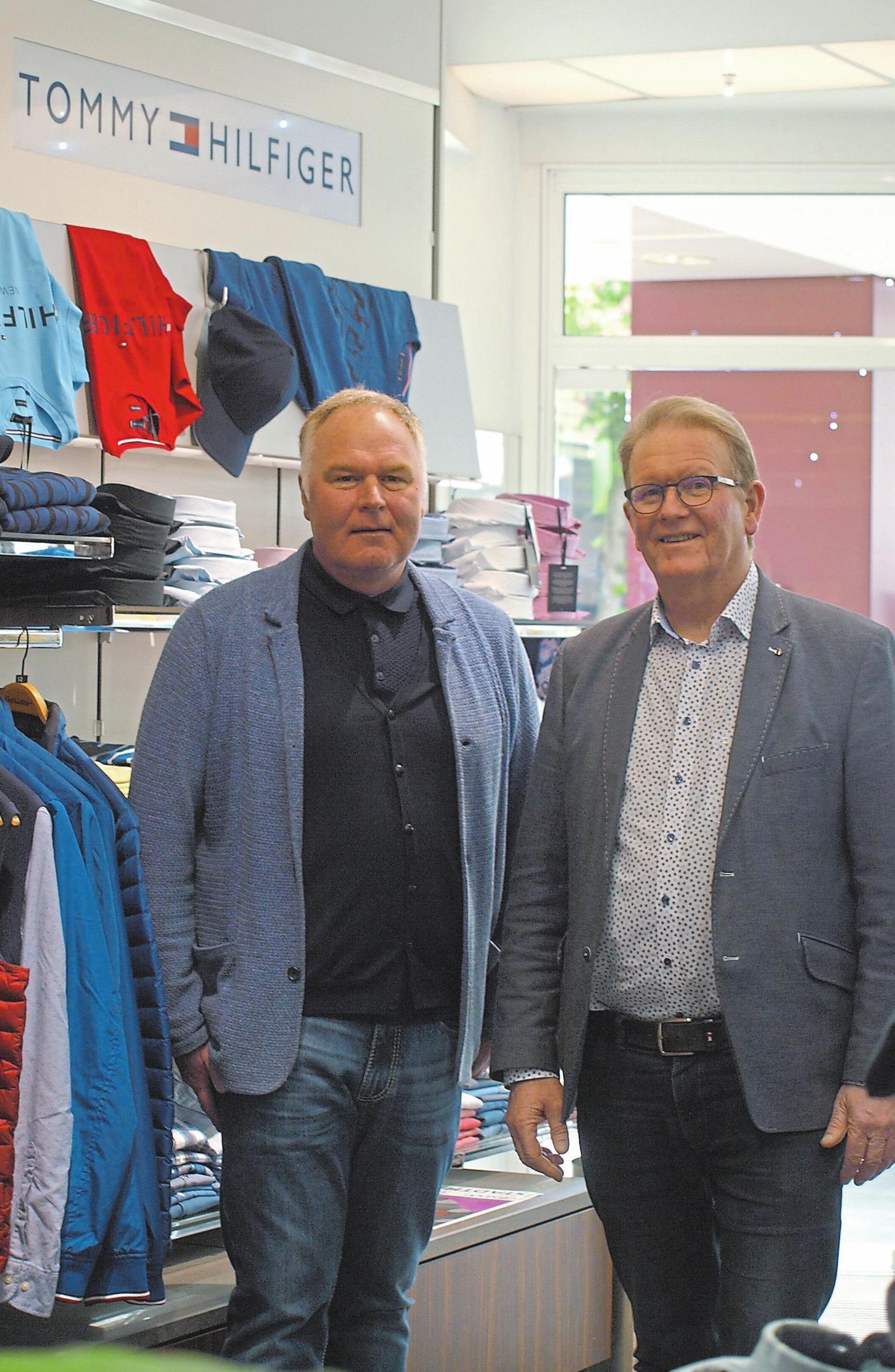 Oliver Moor und Bernd-Uwe Lieftüchter sind auf Sommer eingestellt.