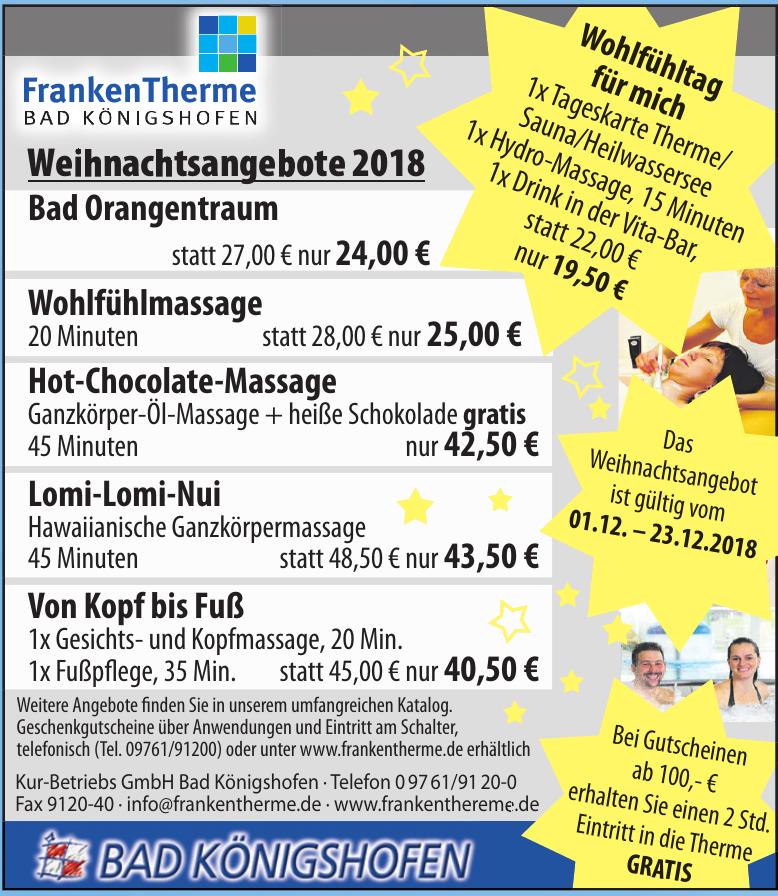 Kur-Betriebs GmbH Bad Königshofen