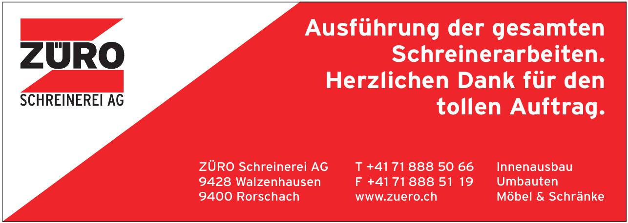 ZÜRO Schreinerei AG