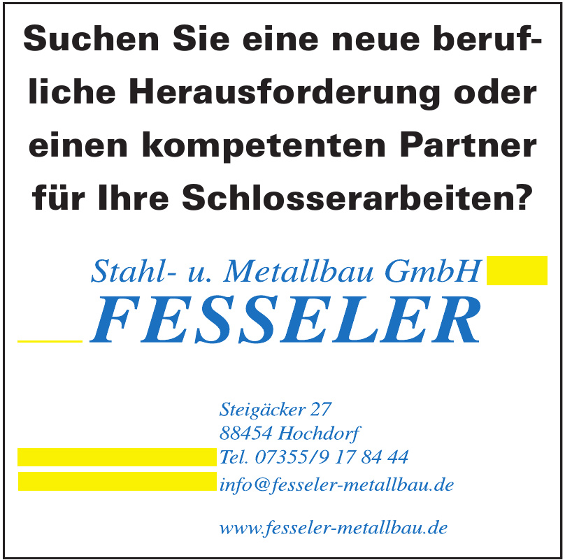 Fesseler Stahl- u. Metallbau GmbH