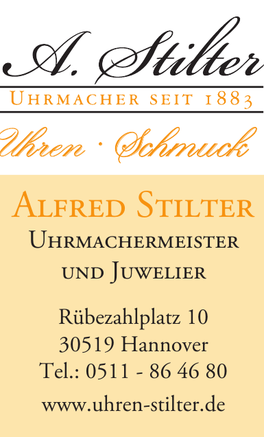 A.Stilter-Uhren-Schmuck