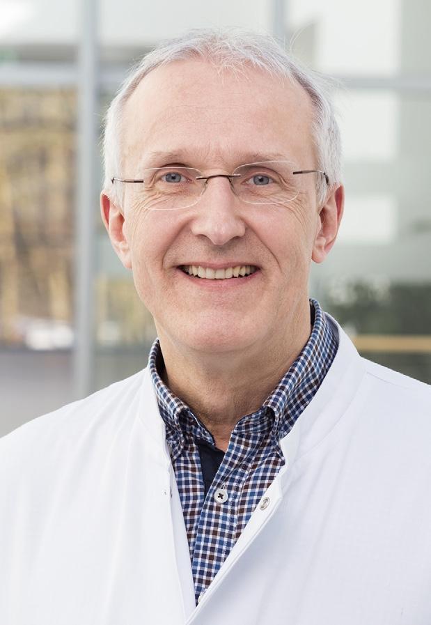 Prof. Dr. Roland Repp Chefarzt 2. Medizinische Klinik, Städtisches Krankenhaus Kiel