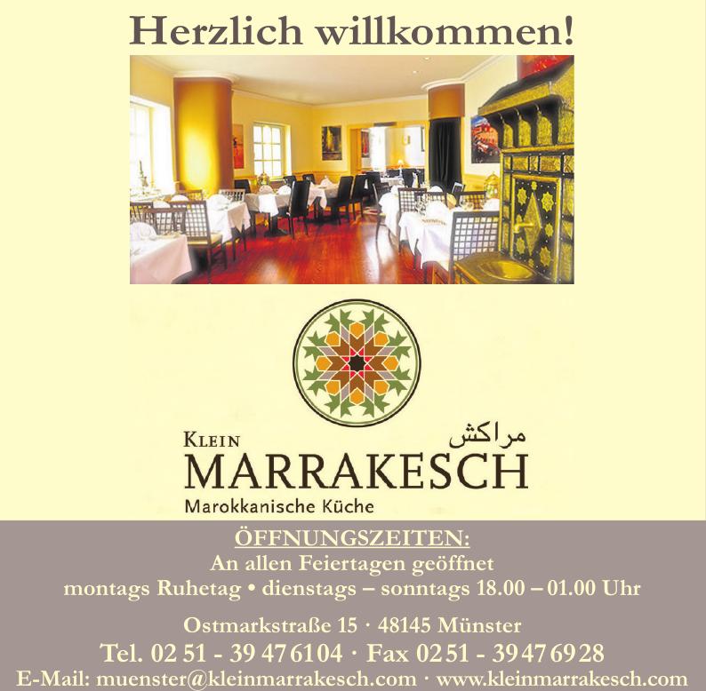 Restaurant Klein Marrakesch