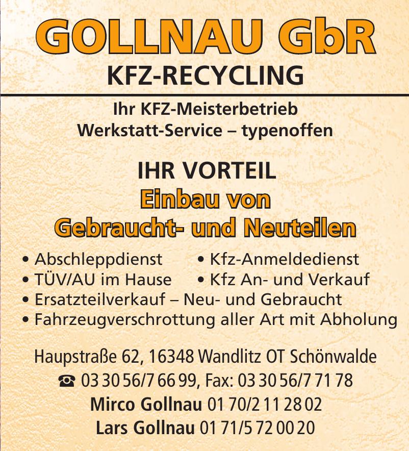 Gollnau GbR KFZ-Recycling