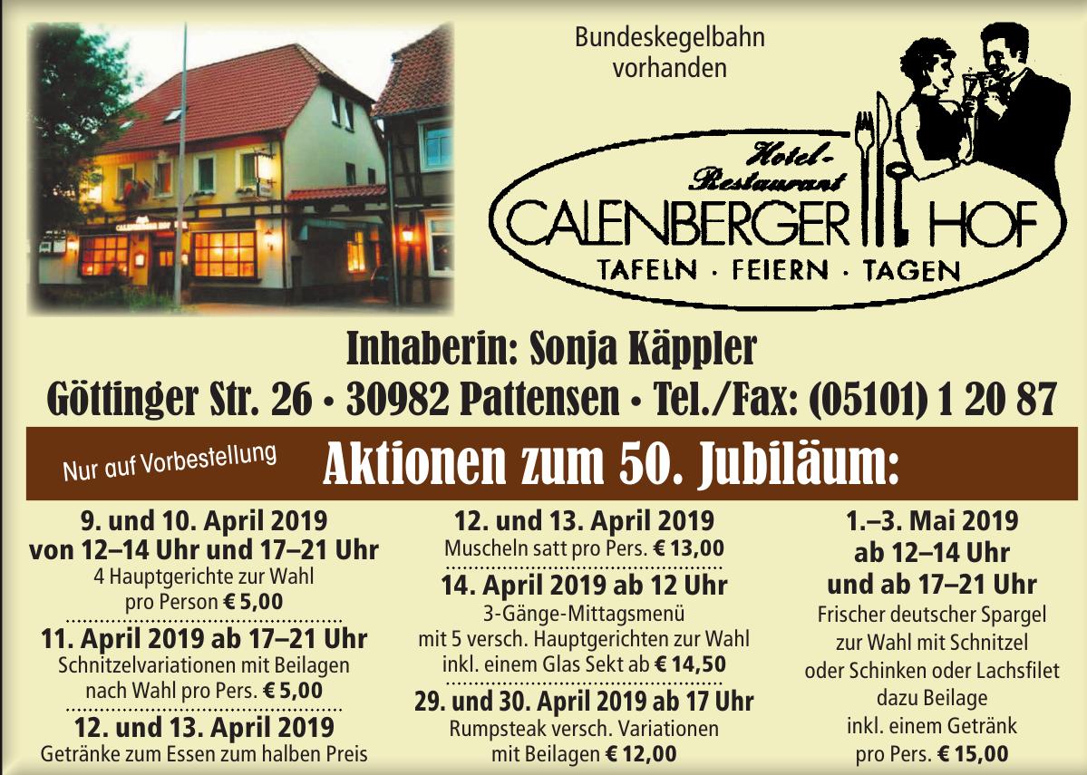 Stammgäste empfehlen Calenberger Hof Pattensen & Schnitzeltage
