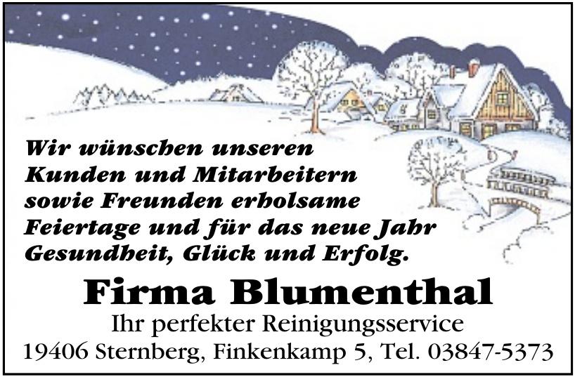 Firma Blumenthal