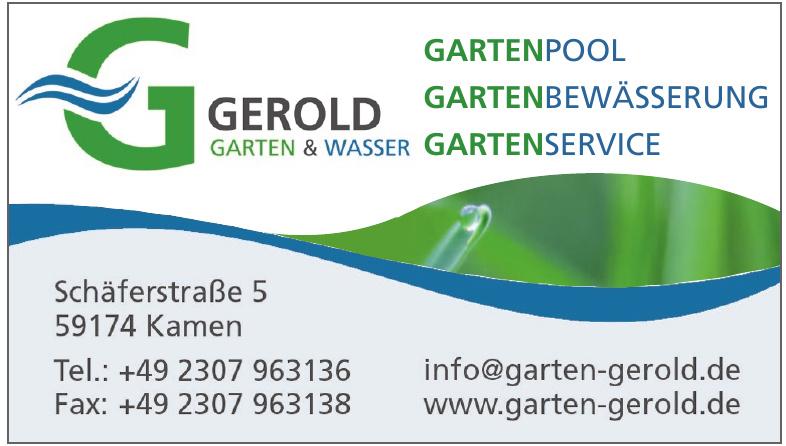 Gerold Garten & Wasser