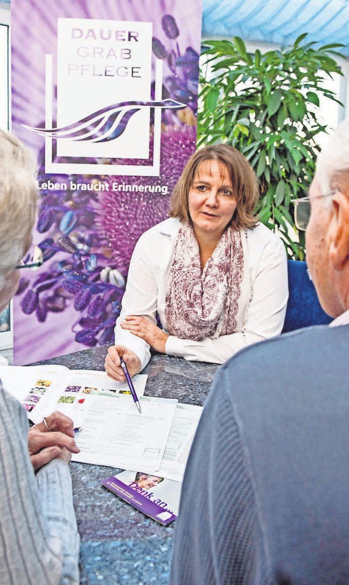 Regionale Dauergrabpflegeorganisationen beraten gern zu allen Aspekten und Möglichkeiten der Dauergrabpflege