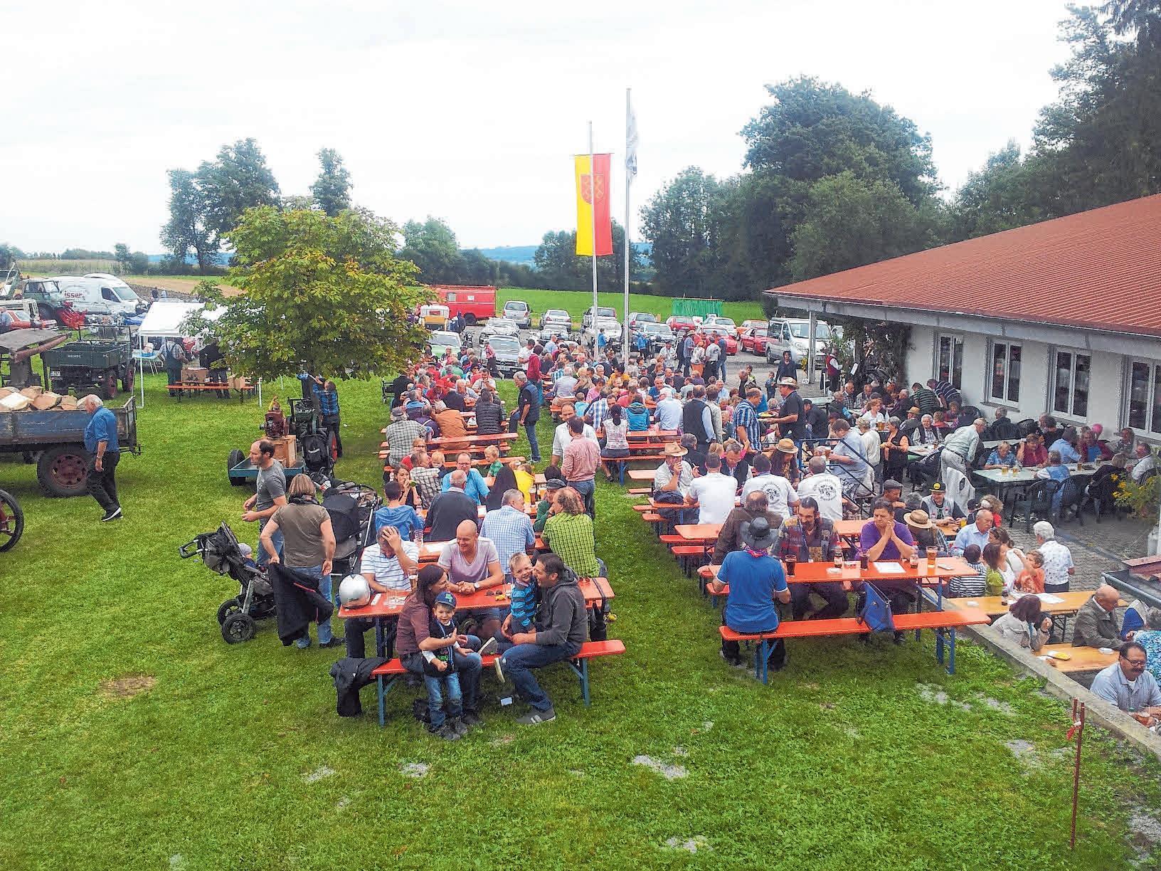 Der Schützenverein Berg lädt herzlich zum Schützenfest ein.