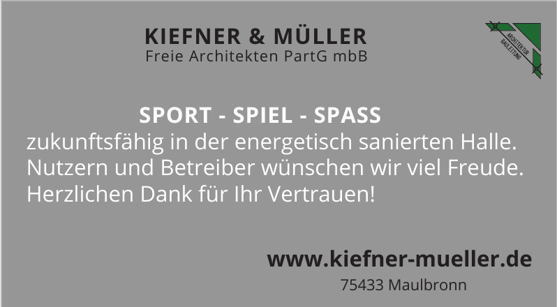 Kiefner & Müller Freie Architekten PartG mbB