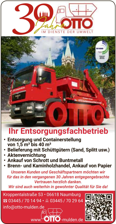 Otto Transport- & Containerdienst