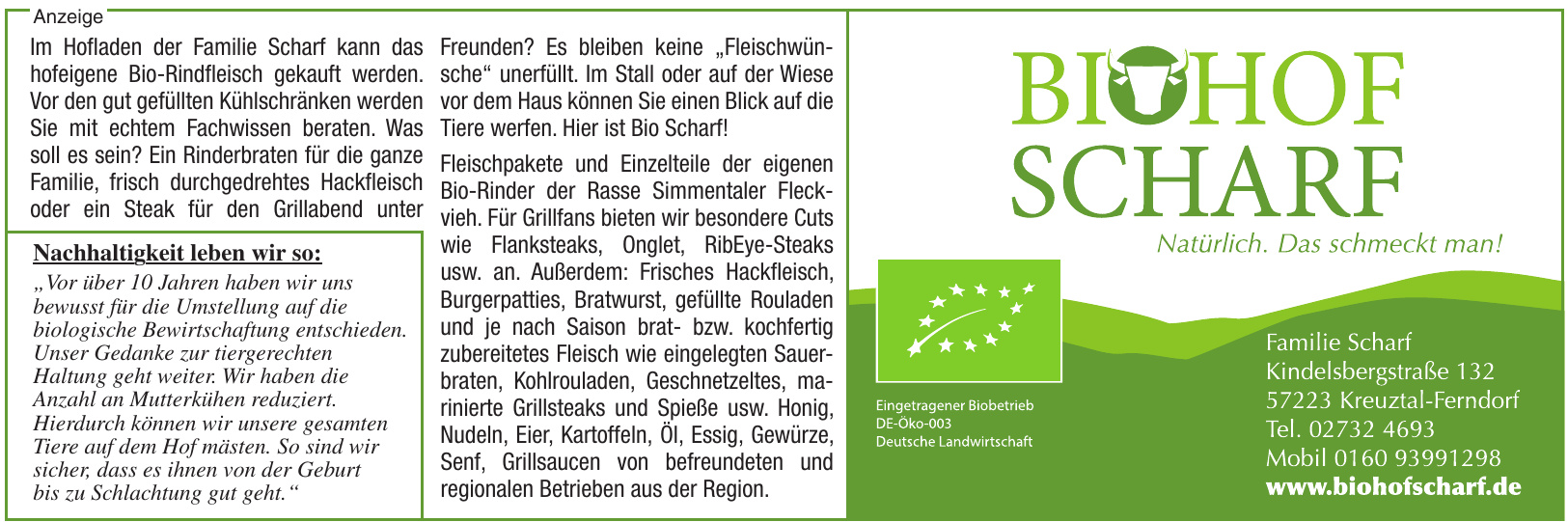 Biohof Scharf