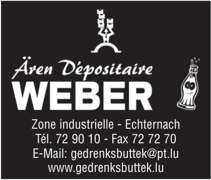 Ären Dépositaire Weber