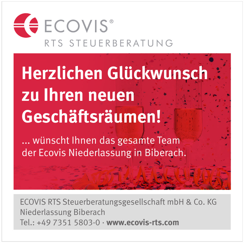 ECOVIS RTS Steuerberatungsgesellschaft mbH & Co. KG