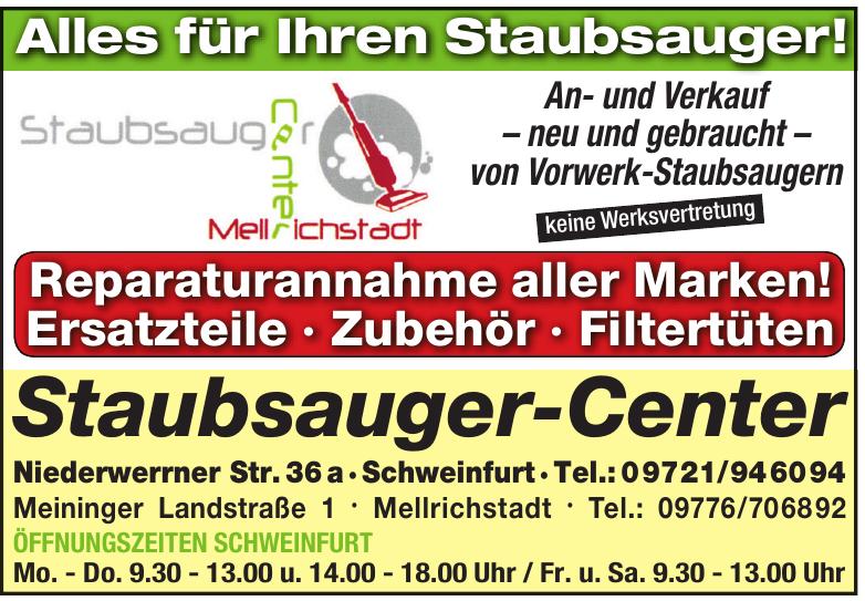 Staubsauger-Center
